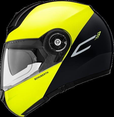 Schuberth C3 Pro Split Yellow