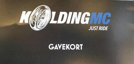 Kolding MC Gavekort