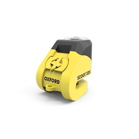 Oxford Scoot XD5 disc lock(5mm pin) Yellow