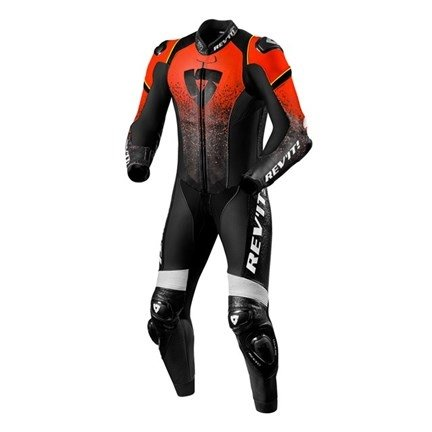 Rev'it One Piece Quantum Red/Black